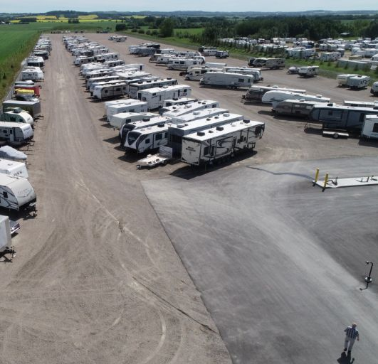 Alta RV Storage facility