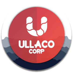 Ullaco Corp logo. Local Calgary-based Marketing and Website design agency