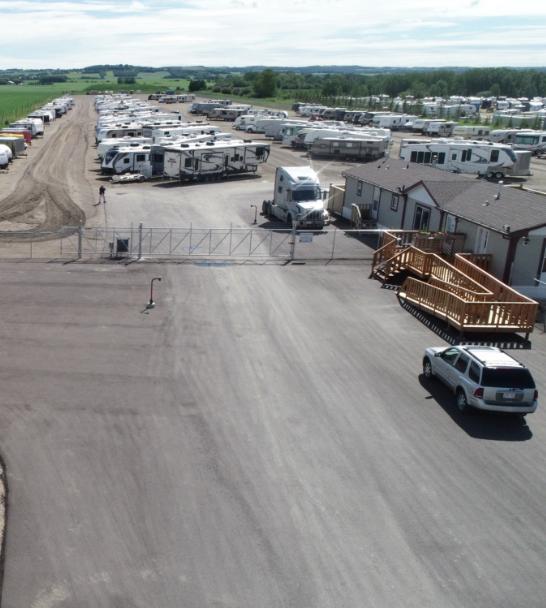 Alta RV Vehicle Storage Requirements